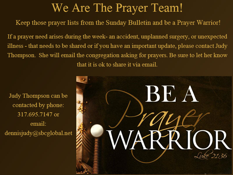 You are a Prayer Warrior!