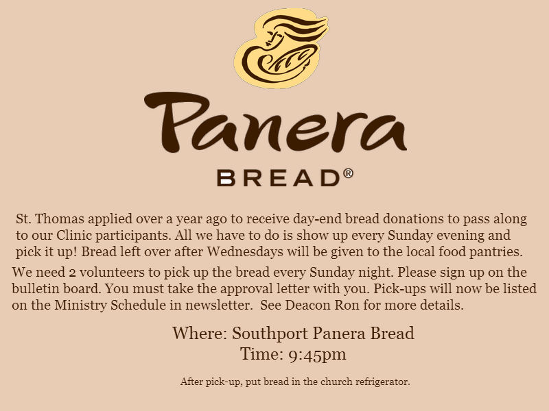 Panera Bread Program