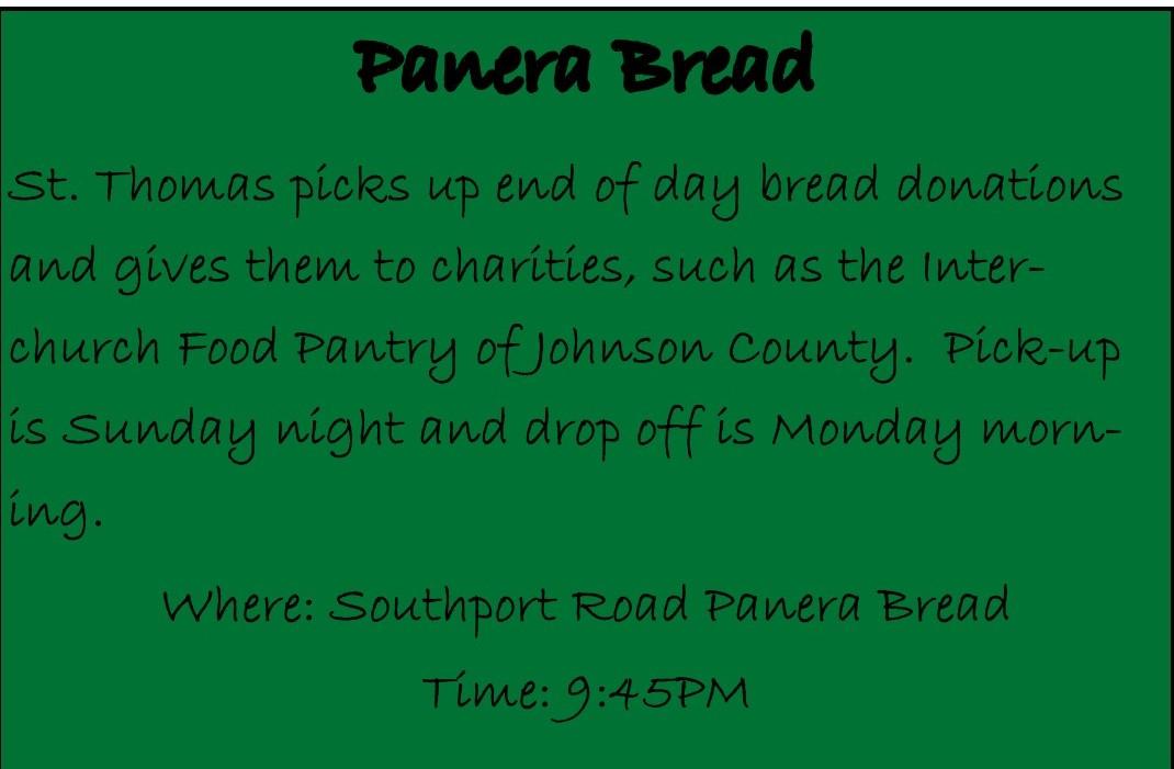 Panera Bread Program